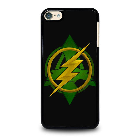 ARROW VS THE FLASH LOGO iPod Touch 4 5 6 Generation 4th 5th 6th Case - Best Custom iPod Cover Design