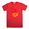 BILLIONAIRE BOYS CLUB-mens-t-shirt-Red