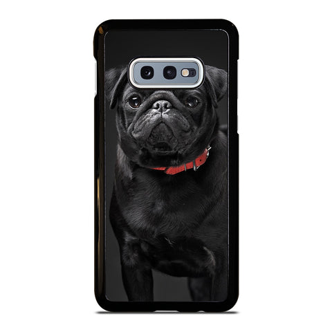BLACK PUG-samsung-galaxy-s10e-case