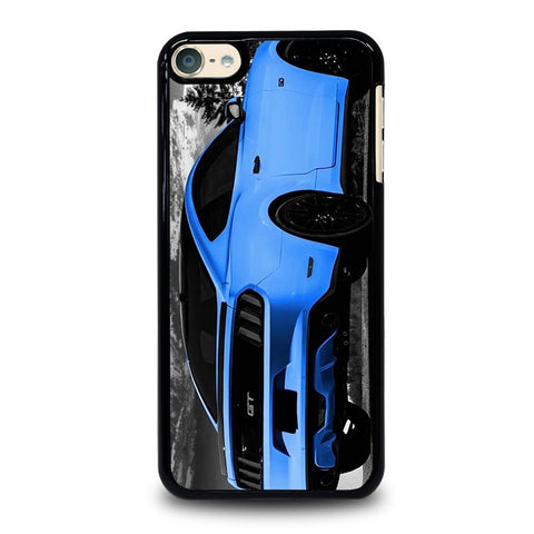 BLUE MUSTANG GT iPod Touch 4 5 6 Generation 4th 5th 6th Case - Best Custom iPod Cover Design