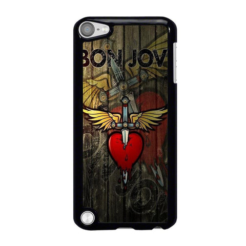 BON JOVI WOODEN LOGO iPod Touch 5 Case