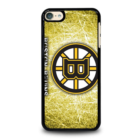 BOSTON BRUINS LOGO iPod Touch 4 5 6 Generation 4th 5th 6th Case - Best Custom iPod Cover Design