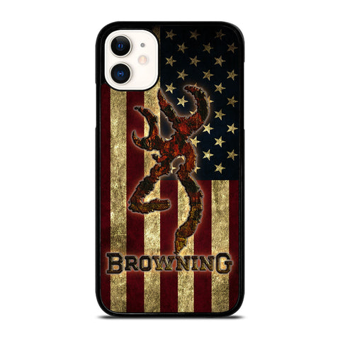 BROWNING USA FLAG iPhone 11 Case