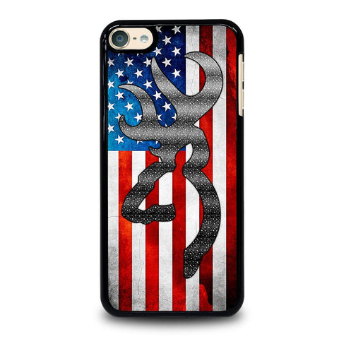 BROWNING CAMO AMERICAN FLAG iPod Touch 4 5 6 Generation 4th 5th 6th Case - Best Custom iPod Cover Design