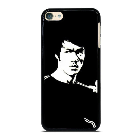 BRUCE LEE BLACK WHITE iPod Touch 4 5 6 Generation 4th 5th 6th Case - Best Custom iPod Cover Design