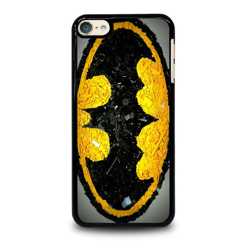 Batman Logo Black Yellow 2 iPod Touch 4 5 6 Generation 4th 5th 6th Case - Best Custom iPod Cover Design