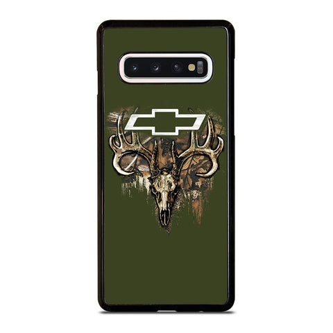 CAMO CHEVY FILL SKULLc-samsung-galaxy-s10-case