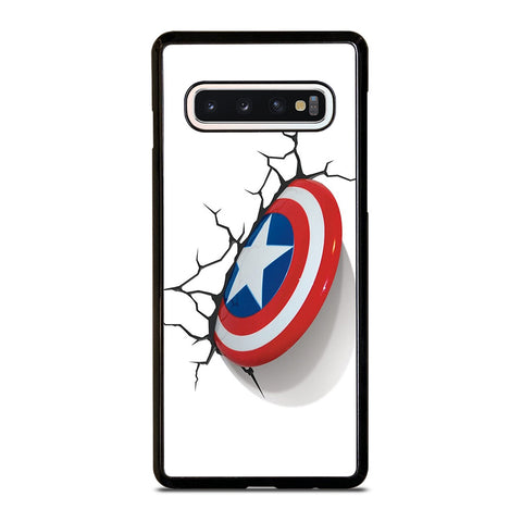 CAPTAIN AMERICA SHIELD 3D Samsung Galaxy S4 S5 S6 S7 S8 S9 S10 5G Plus S10e Edge Plus Note 5 8 9 10 Plus Case - Best Custom Phone Cover Design