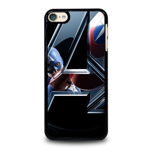CAPTAIN AMERICA IN THE AVENGERS iPod Touch 4 5 6 Generation 4th 5th 6th Case - Best Custom iPod Cover Design