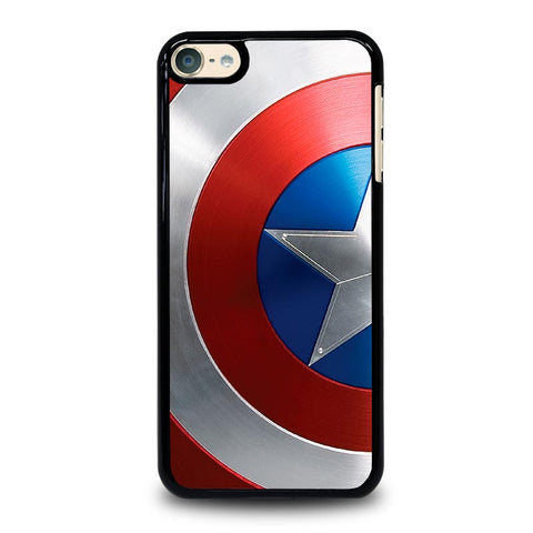 CAPTAIN AMERICA SHIELD AVENGERS iPod Touch 4 5 6 Generation 4th 5th 6th Case - Best Custom iPod Cover Design