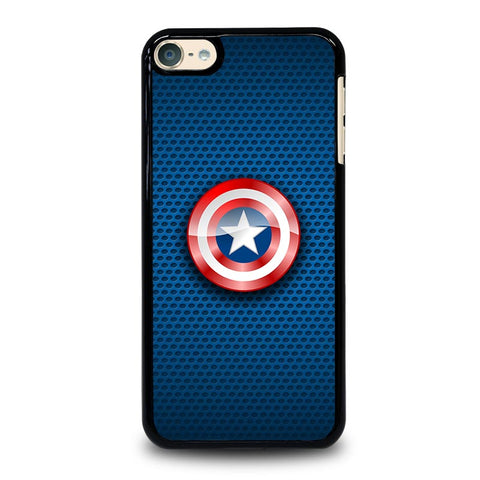 CAPTAIN AMERICA SHIELD ICON AVENGERS iPod Touch 4 5 6 Generation 4th 5th 6th Case - Best Custom iPod Cover Design