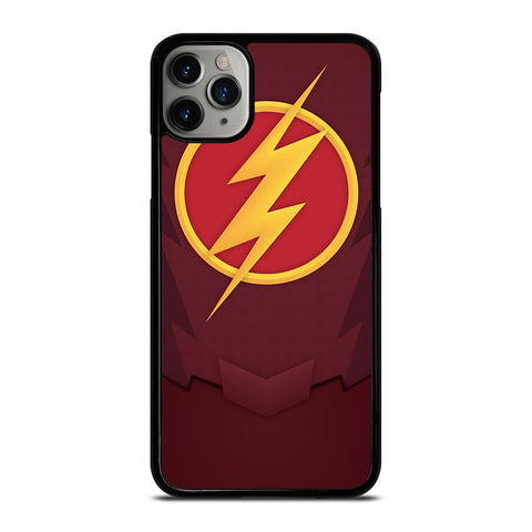 CHEST LOGO THE FLASH iPhone 6/6S 7 8 Plus X/XS XR 11 Pro Max Case - Best Custom Phone Cover Design