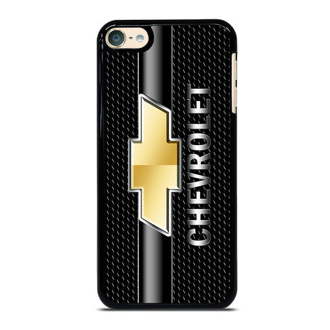 CHEVY CHEVROLET LOGO CARBON iPod Touch 4 5 6 Generation 4th 5th 6th Case - Best Custom iPod Cover Design