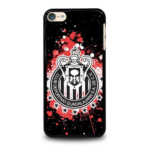 CHIVAS GUADALAJARA FC LOGO ART iPod Touch 4 5 6 Generation 4th 5th 6th Case - Best Custom iPod Cover Design