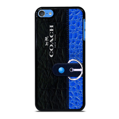COACH BAG BLUE iPod Touch 7 Case