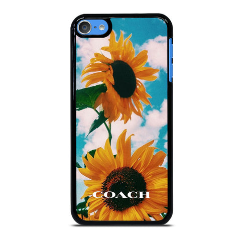COACH SUNFLOWER iPod Touch 7 Case