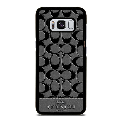 COACH NEW YORK GREY-samsung-galaxy-S8-case