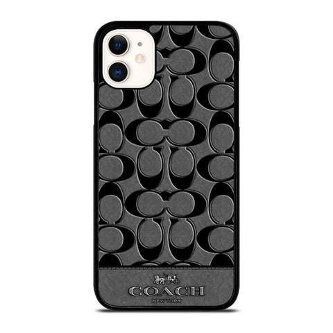 COACH NEW YORK GREY iPhone 11 Case