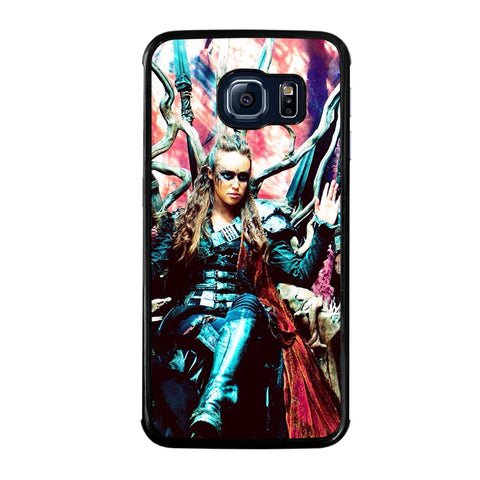COMMANDER LEXA THE 100-samsung-galaxy-S6-edge-case