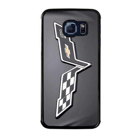 CORVETTE CHEVY LOGO-samsung-galaxy-S6-edge-case