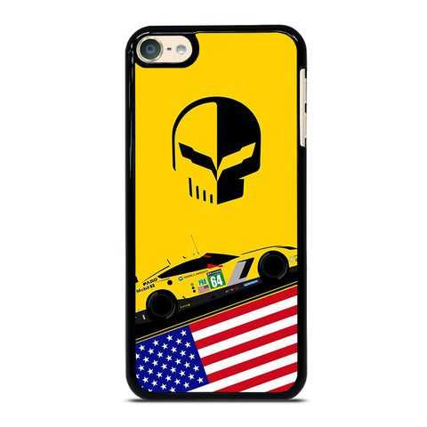 CORVETTE RACING JACK DECAL iPod Touch 4 5 6 Generation 4th 5th 6th Case - Best Custom iPod Cover Design