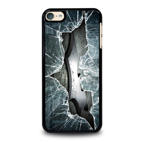 CRACKED OUT GLASS BATMAN THE DARK KNIGHT 2 iPod Touch 4 5 6 Generation 4th 5th 6th Case - Best Custom iPod Cover Design