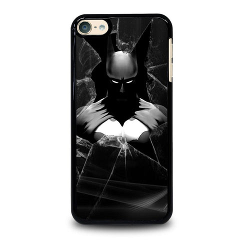 CRACKED OUT GLASS BATMAN THE DARK KNIGHT 3 iPod Touch 4 5 6 Generation 4th 5th 6th Case - Best Custom iPod Cover Design