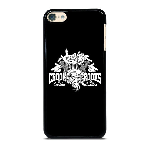 CROOK AND CASTLES iPod Touch 4 5 6 Generation 4th 5th 6th Case - Best Custom iPod Cover Design