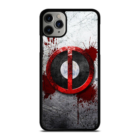 DEADPOOL RESOLUTION BLOOD MARVEL iPhone 6/6S 7 8 Plus X/XS XR 11 Pro Max Case - Best Custom Phone Cover Design