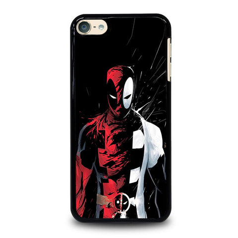 DEADPOOL BLACK IN BLACK WHITE iPod Touch 4 5 6 Generation 4th 5th 6th Case - Best Custom iPod Cover Design