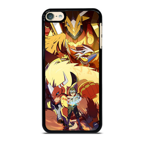 DIGIMON FRONTIER AGUNIMON iPod Touch 4 5 6 Generation 4th 5th 6th Case - Best Custom iPod Cover Design