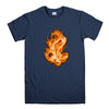 DRAGON EMBROIDERY-mens-t-shirt-Navy