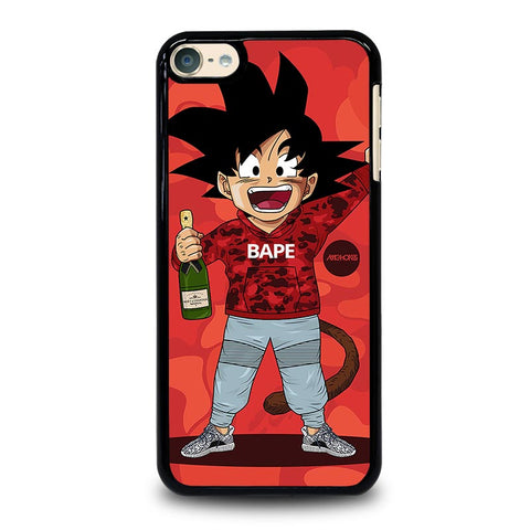 DRAGON BALL Z X BAPE CAMO iPod Touch 4 5 6 Generation 4th 5th 6th Case - Best Custom iPod Cover Design