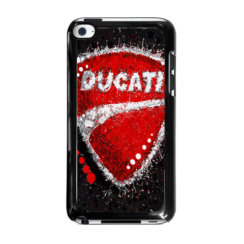 DUCATI LOGO ART-ipod-touch-4-case