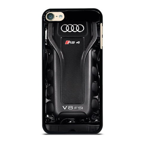 ENGINE AUDI RS4 SPORTS iPod Touch 4 5 6 Generation 4th 5th 6th Case - Best Custom iPod Cover Design