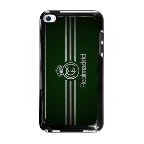 FC REAL MADRID GREEN-ipod-touch-4-case