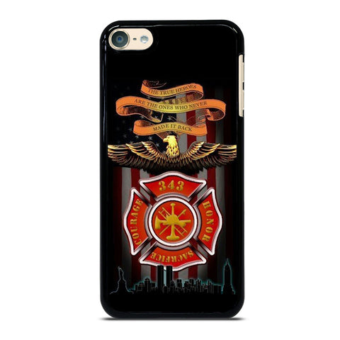 FIREFIGHTER QUOTES FIRE DEPT iPod Touch 4 5 6 Generation 4th 5th 6th Case - Best Custom iPod Cover Design