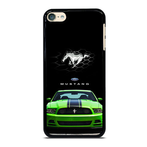 FORD MUSTANG CAR GREEN iPod Touch 4 5 6 Generation 4th 5th 6th Case - Best Custom iPod Cover Design