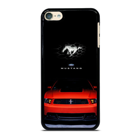 FORD MUSTANG CAR RED iPod Touch 4 5 6 Generation 4th 5th 6th Case - Best Custom iPod Cover Design
