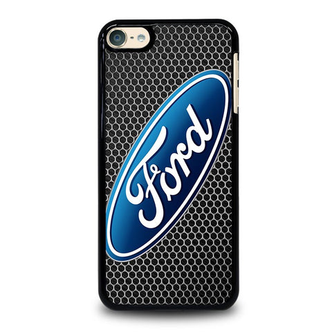 FORD SYMBOLE METAL iPod Touch 4 5 6 Generation 4th 5th 6th Case - Best Custom iPod Cover Design