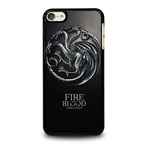 GAME OF THRONES TARGARYEN iPod Touch 4 5 6 Generation 4th 5th 6th Case - Best Custom iPod Cover Design