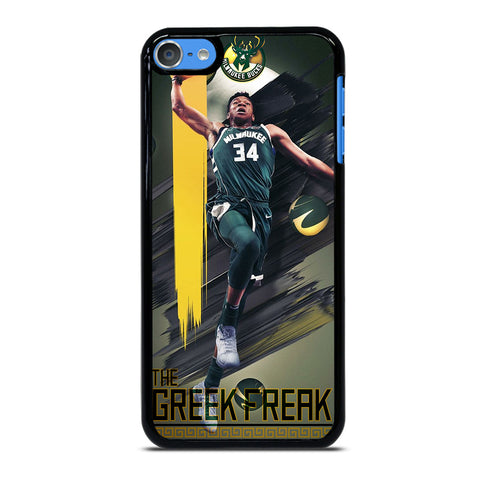 GIANNIS ANTETOKOUNMPO MILWAUKEE BUCKS iPod Touch 7 - Custom iPod 7th Gen Cover personalized Design