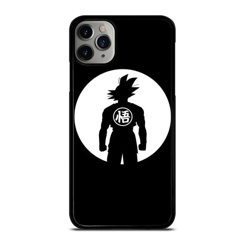 GOKU DRAGON BALL BLACK WHITE iPhone 6/6S 7 8 Plus X/XS XR 11 Pro Max Case - Best Custom Phone Cover Design