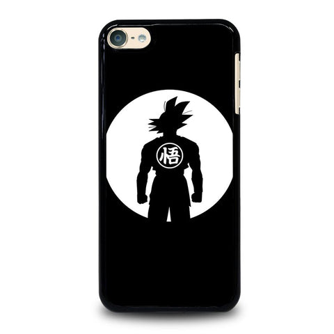 GOKU DRAGON BALL BLACK WHITE iPod Touch 4 5 6 Generation 4th 5th 6th Case - Best Custom iPod Cover Design