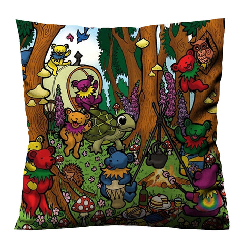GRATEFUL DEAD DANCING Cushion Case Cover