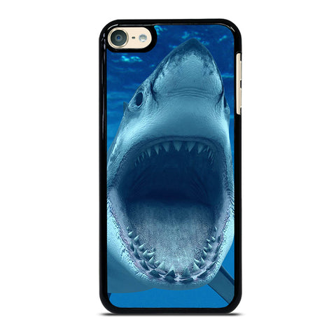 GREAT WHITE SHARK iPod Touch 4 5 6 Generation 4th 5th 6th Case - Best Custom iPod Cover Design