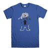 GRIZZLY GRIPTAGE POSTER OG BEAR SKATEBOARD 2-mens-t-shirt-Blue