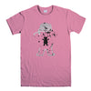 GRIZZLY GRIPTAGE POSTER OG BEAR SKATEBOARD 2-mens-t-shirt-Pink