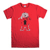 GRIZZLY GRIPTAGE POSTER OG BEAR SKATEBOARD 2-mens-t-shirt-Red