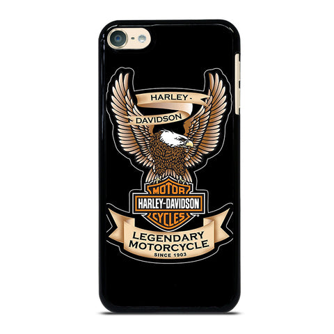 HARLEY DAVIDSON LEGEND iPod Touch 4 5 6 Generation 4th 5th 6th Case - Best Custom iPod Cover Design